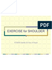 Exercise for Shoulder