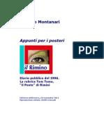 Diario 1996. Appunti per i posteri