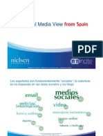 The Social Media View From Spain