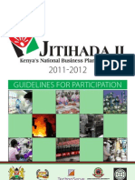 Jitihada II Business Plan Competition _ Guidelines for Participation 2011