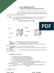 Solid Mensuration Formulas