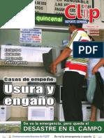 Clip - Reporte Semanal 18 Pliegos