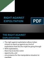 Right Against Exploitation