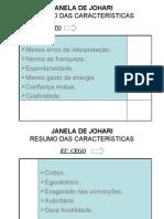 Recursos Humanos - JANELA de JOHARI - Conceitos