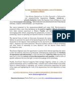 Gacetilla de Prensa Alianza Regional - Amicus Curiae en México sobre Publicidad Oficial
