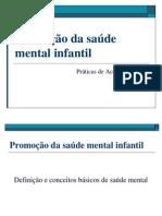 Promoção da saúde mental infantil