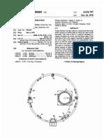 Storage tank construction procedures (US patent 4121747)