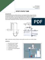 Pitot Static Tube