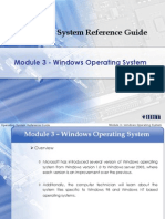 Module 3-Windows Operating System