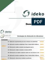 Ideko-IK4 Demostradores eliminación vibraciones