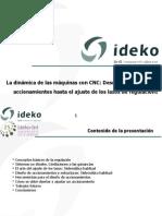 Ideko-IK4 Dinámica de máquinas con CNC