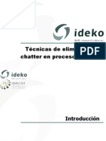 Técnicas de eliminación de chatter en procesos de co_rte