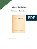 Vinicius de Moraes - Livro de Sonetos