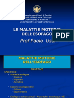 Malattie Motorie Dell'Esofago
