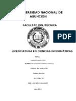 Capas Del Protocolo TCP