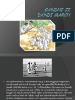 Gandhi Ji Dandi March12
