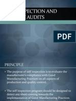Self Inspection and Quality Audits