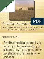 Profecías Mesiánicas