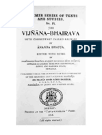 Vijnana Bhairava Tantra
