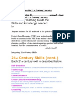 Describe 21 St Century Learning