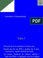 Introdução à Reumatologia. Dr Mitermayer