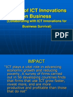 Impact of ICT Innovations on Business