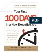 Your First 100 Days - Introduction