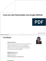 Aula Sobre Links Patrocinados(Google Adwords) - Lição 2