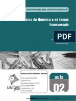 Ensino de Quimica e Os Temas Transversais