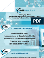 LGM Pharma - Active Pharmaceutical Ingredient Supplier