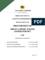 1000 Kva Genarator Set Details