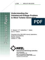 Understanding Unbalances Effect on Wind Turbines