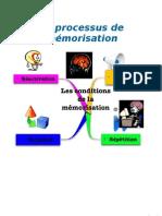 Processus de mémorisation