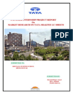 Sip Report of Tata Steel LTD.