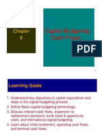 Capital Budgeting - Complete Chp 8