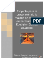 Proyecto Malaria Guinea Ecuatorial