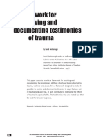 A Framework for Receiving and Documenting Testimonies of Trauma by David Den Borough