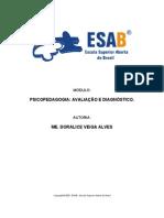Módulo 6 - Psicopedagogia- avaliação e diagnóstico
