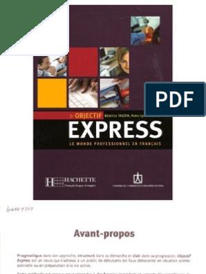Objectif Express 1 A1 A2
