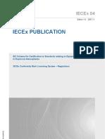 Iecex04{Ed1 0}en Mark Regulations