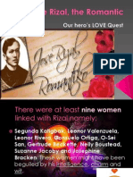 Rizal, The Romantic Finish