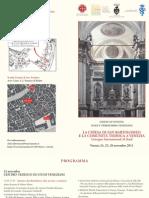 San Bartolomeo Programma