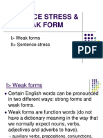 NHA1 - Sentence Stress & Weak Form