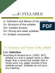 NHA1 - The Syllable