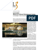 L3 - comunicato museo Leonardo3