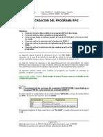 01.- Creación de programa RPG