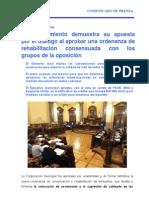 10-11-11 Actividad Municipal Pleno