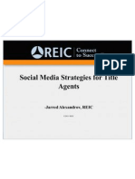 Social Media for Title Agents