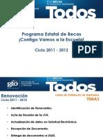 Presentacion_subsistemas.becas Contigo Vamos 2011-2012