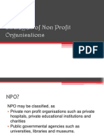 Strategies of Non Profit Organ is at Ions